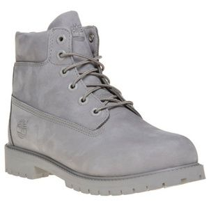 Timberland Gray SIZE 7 WOMAN and SIZE 5 Kid